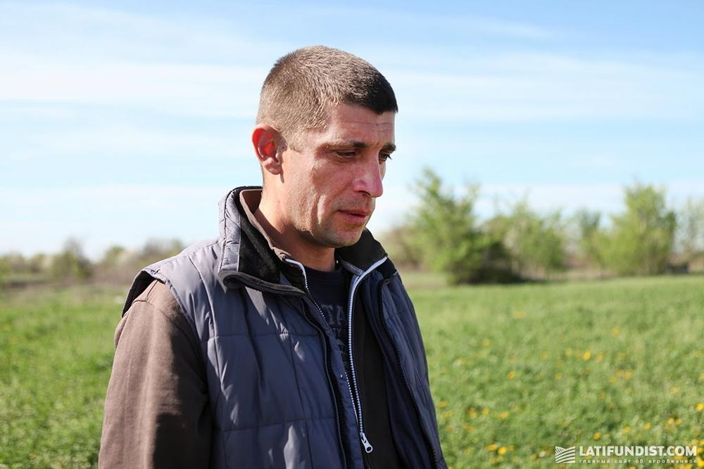 Александр Шевченко, управляющий сельскохозяйственного подразделения «Агро Капитал Центр»