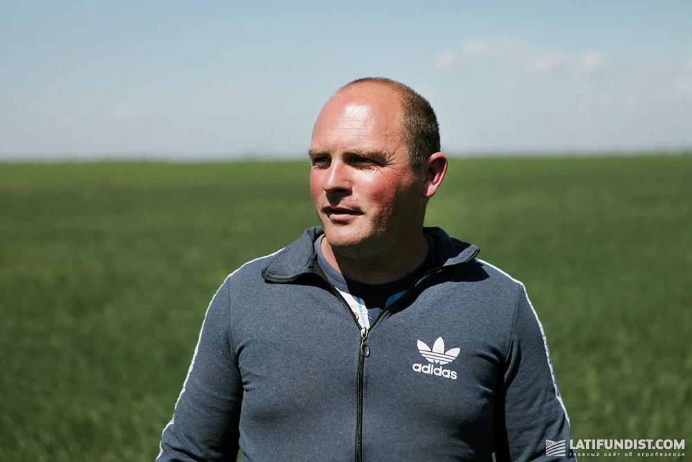 Виталий Винтонович, агроном сельскохозяйственного подразделения «Агро Капитал Центр»