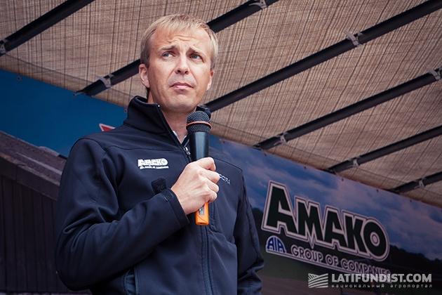 Коммерческий директор «АМАКО Украина» Олег Гук