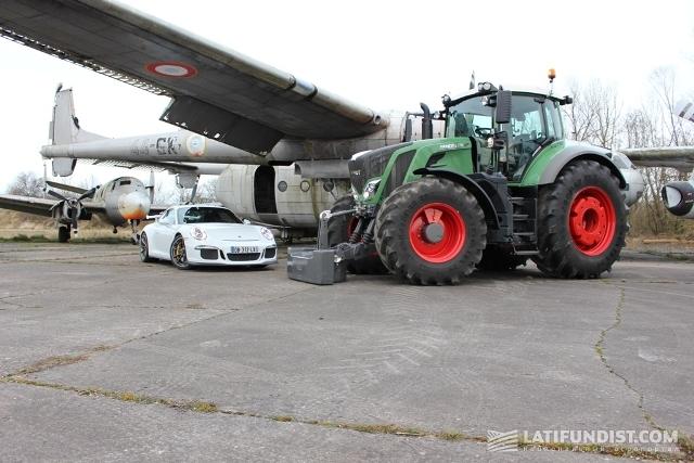 Трактор Fendt обошел Porsche