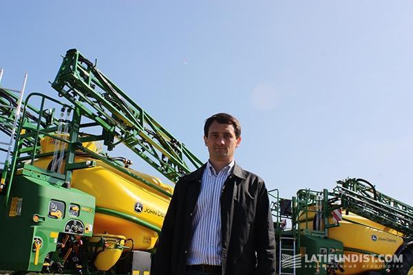 Руководитель отдела продаж техники компании «Агротек» Александр Довгий