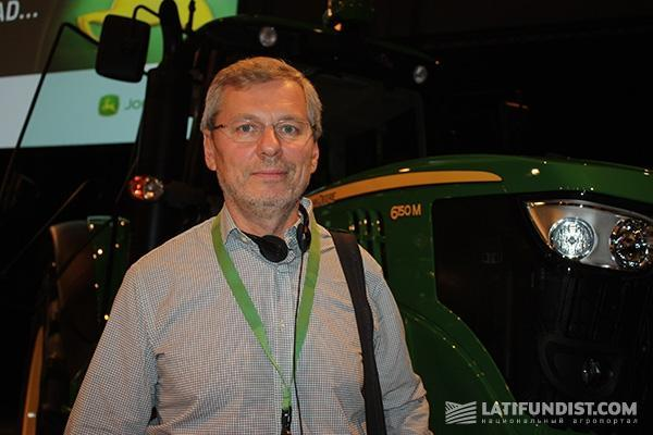 Председатель Совета директоров компании «ЮПИТЕР 9. Агро Сервис» Борис Сапожков