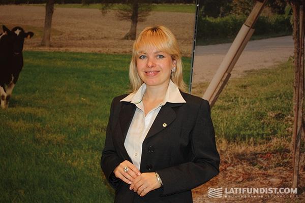 Менеджер торгового финансирования John Deere Украина Наталия Грицишин