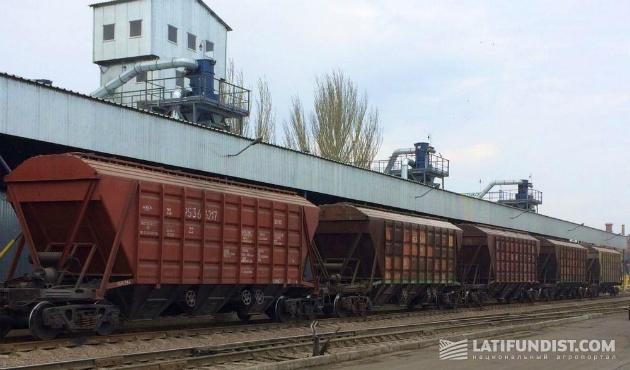 ЗПК «Бруклин—Киев» — система аспирации станции разгрузки вагонов с использованием фильтровального оборудования типа ZEO-FC-9000