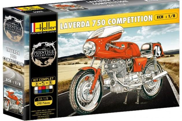 Мотоциклетный бренд Laverda сохранился в памяти ценителей и моделях