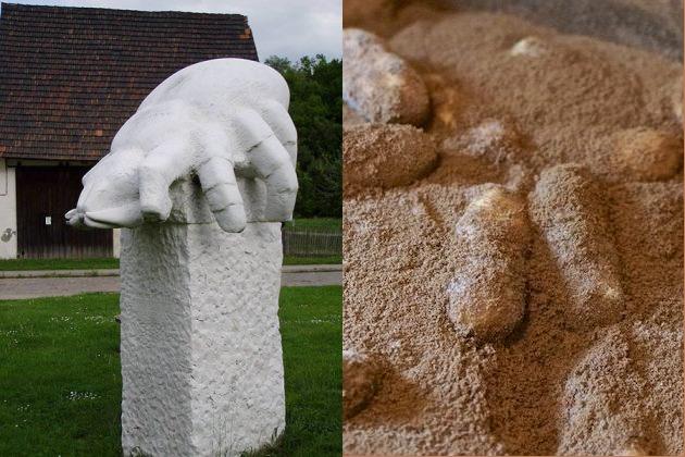Памятник клещу в г.Вюрхвиц, Германия