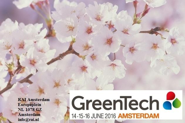 II Международная выставка технологий садоводства GreenTech Amsterdam 2016