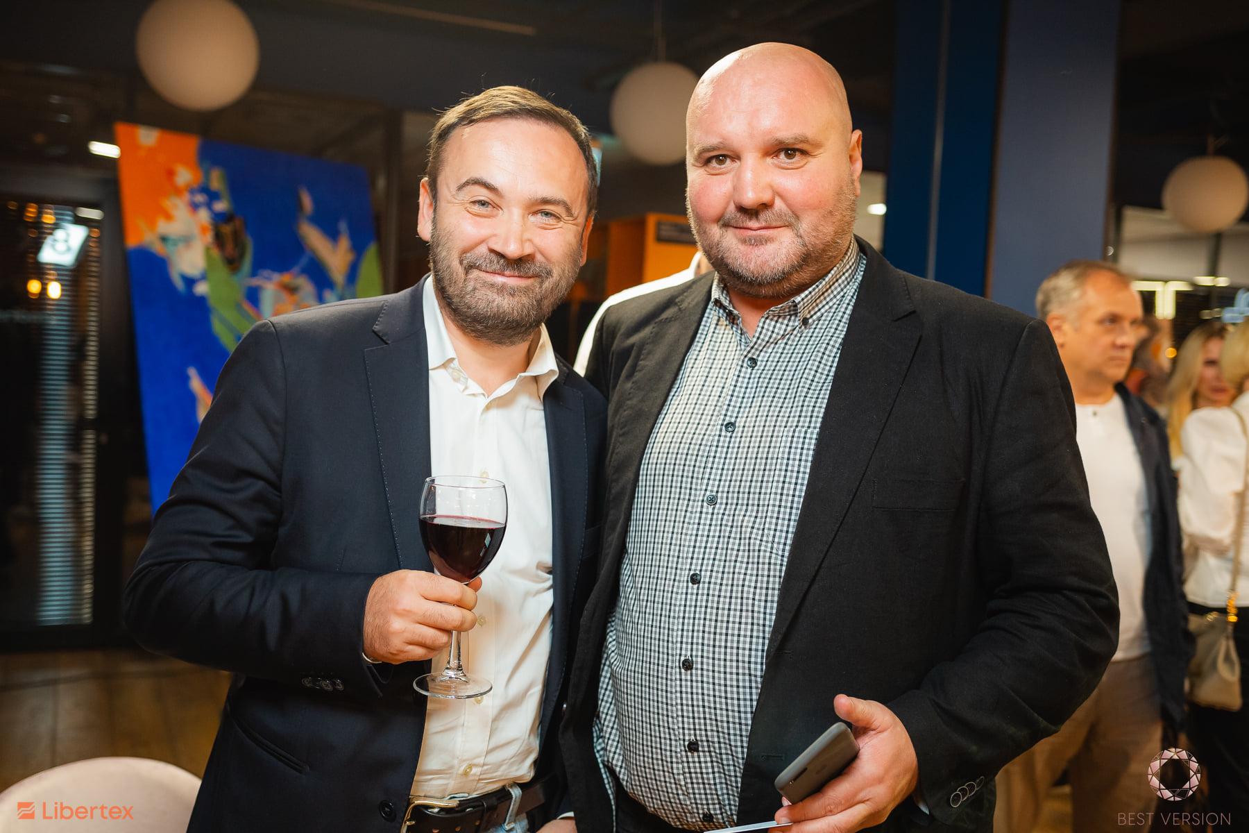 Илья Пономарев, СЕО и акционер Trident Acquisitions (слева)