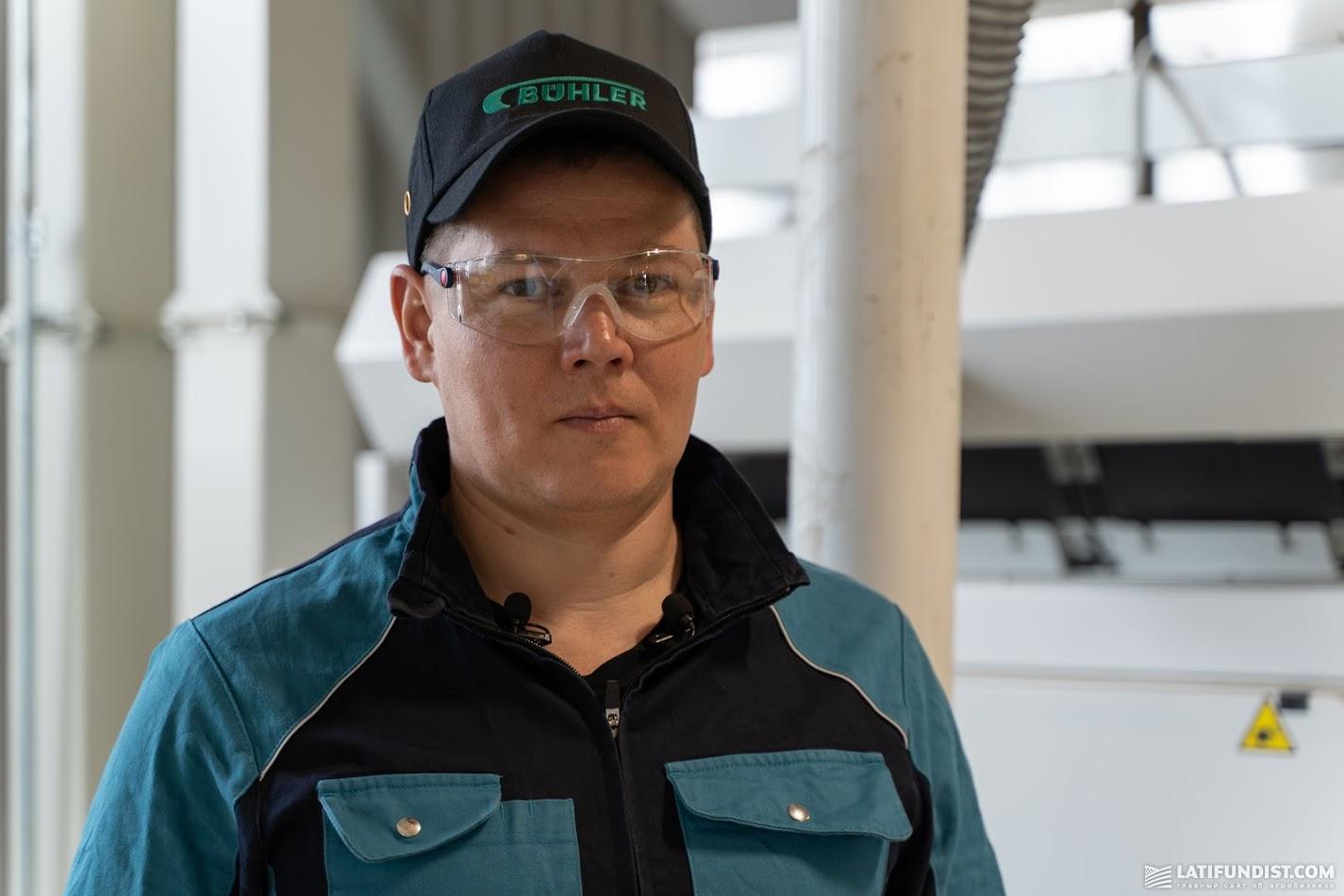 Андрей Сватенко, менеджер направления оптической сортировки «Bühler»