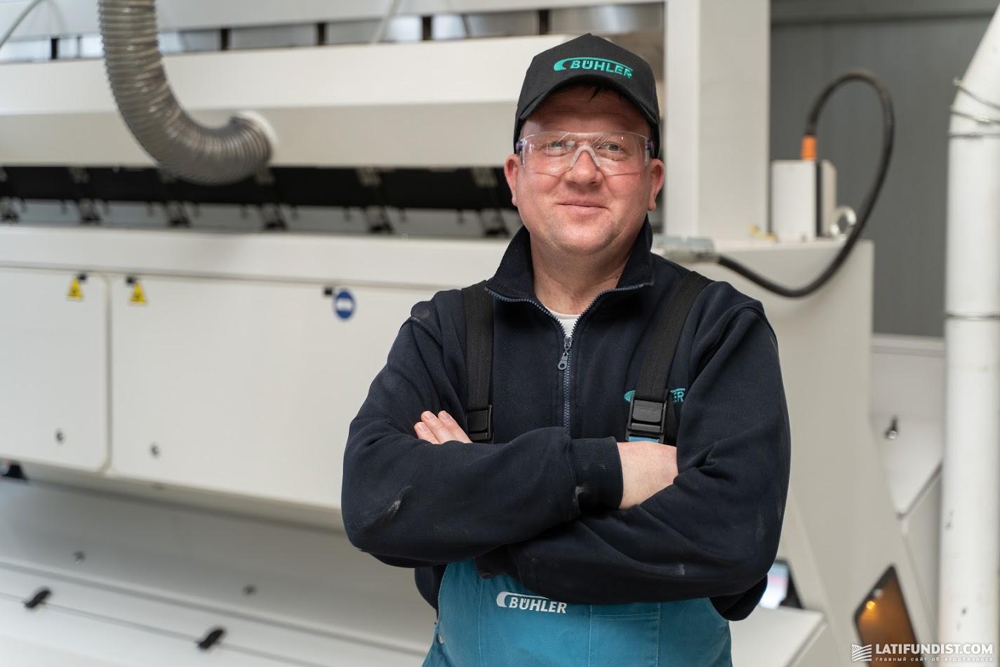 Андрей Шаран, генеральный директор компании «Бюлер Украина» «Bühler»