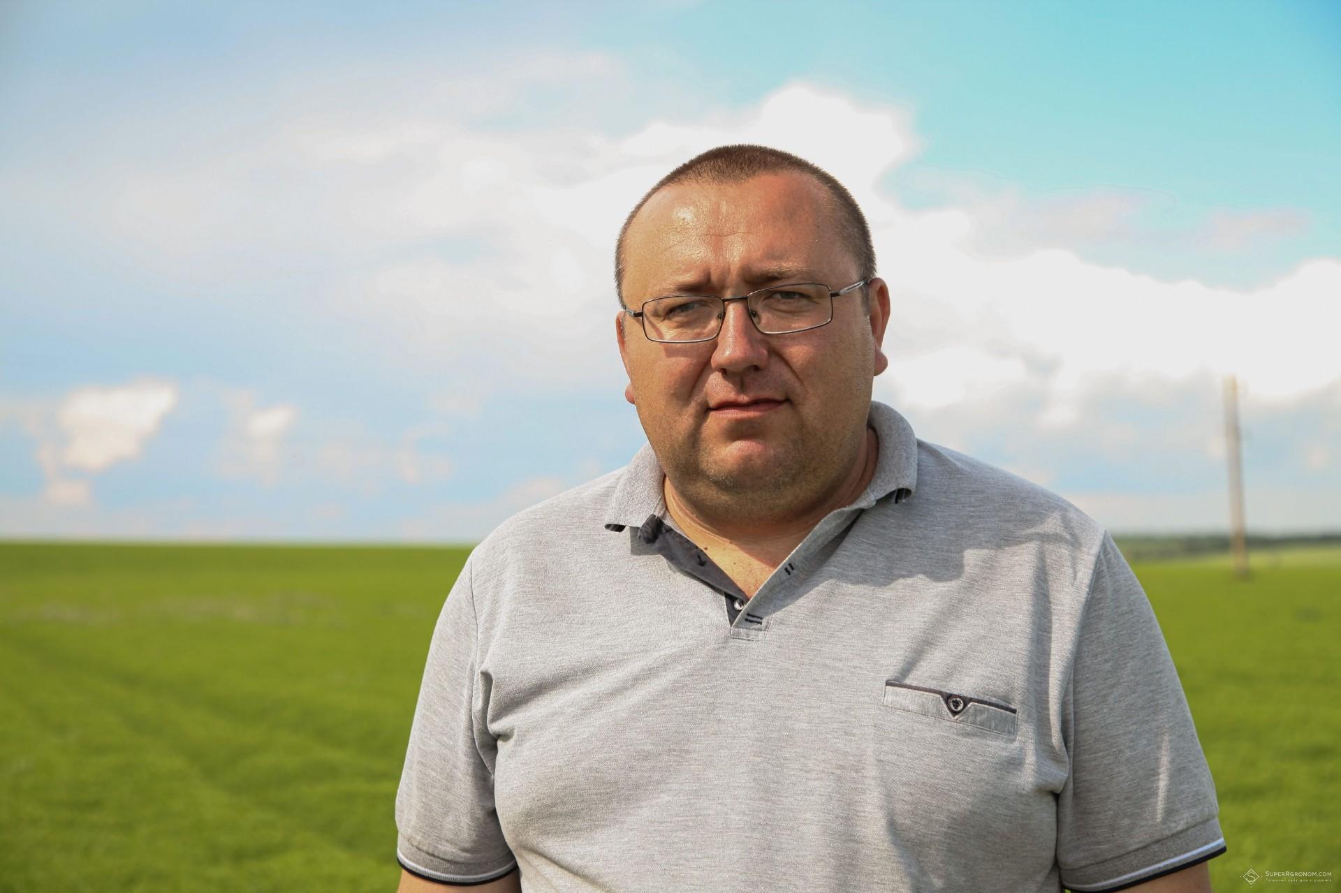 Андрій Чеботар, головний агроном СВК «Перемога»