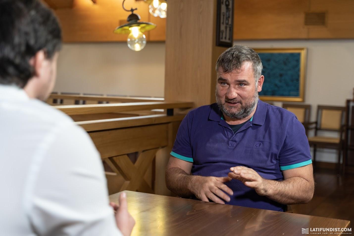 Юрий Дробязко, собственник Аграрной технологической компании