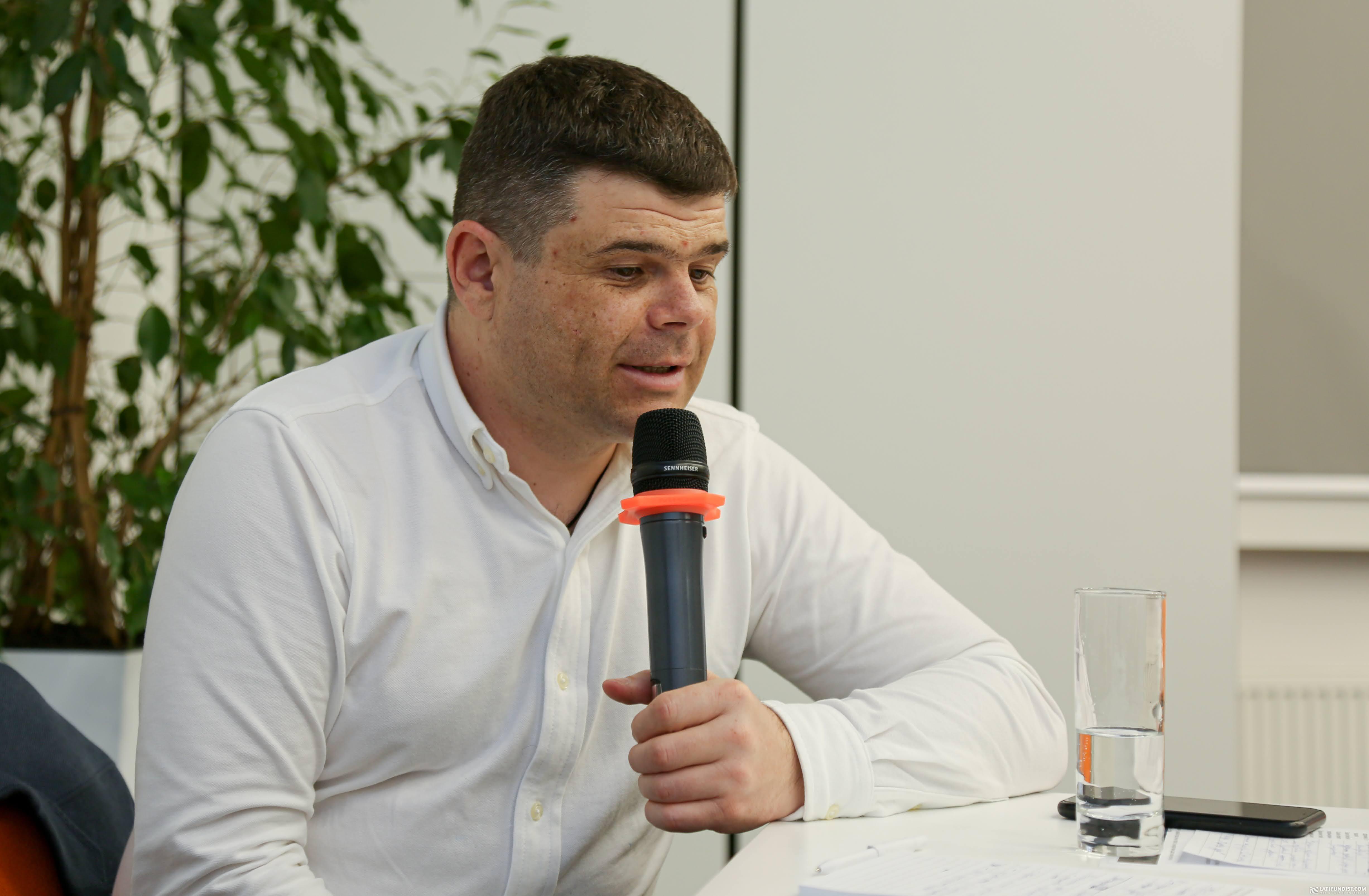 Владимир Нагорный, руководитель отдела земельной политики и имущественных отношений МХП