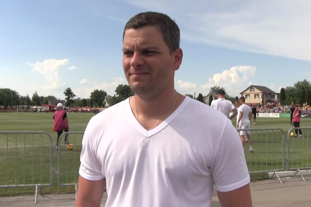 Андрей Засуха, бенефициар футбольной команды «Колос»