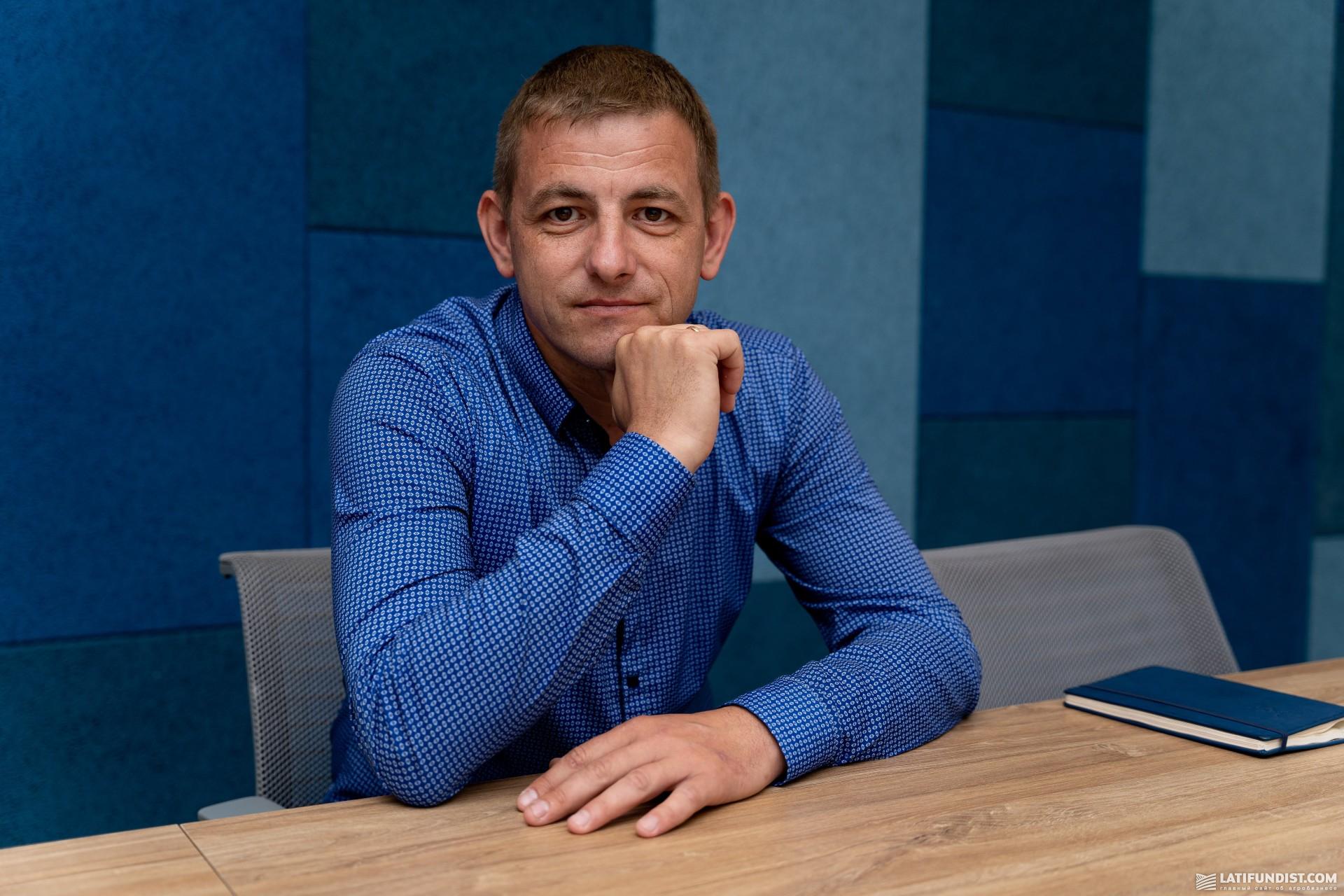 Максим Недашківський, головний спеціаліст напрямку реалізації комбікормів агрокомерційного департаменту МХП