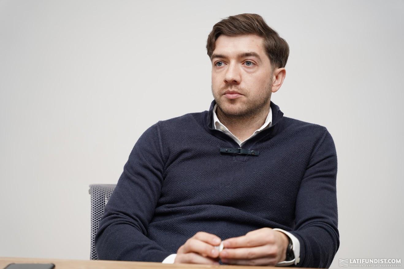 Юрій Шлончак, керівник управління продажів агрокомерційного департаменту МХП