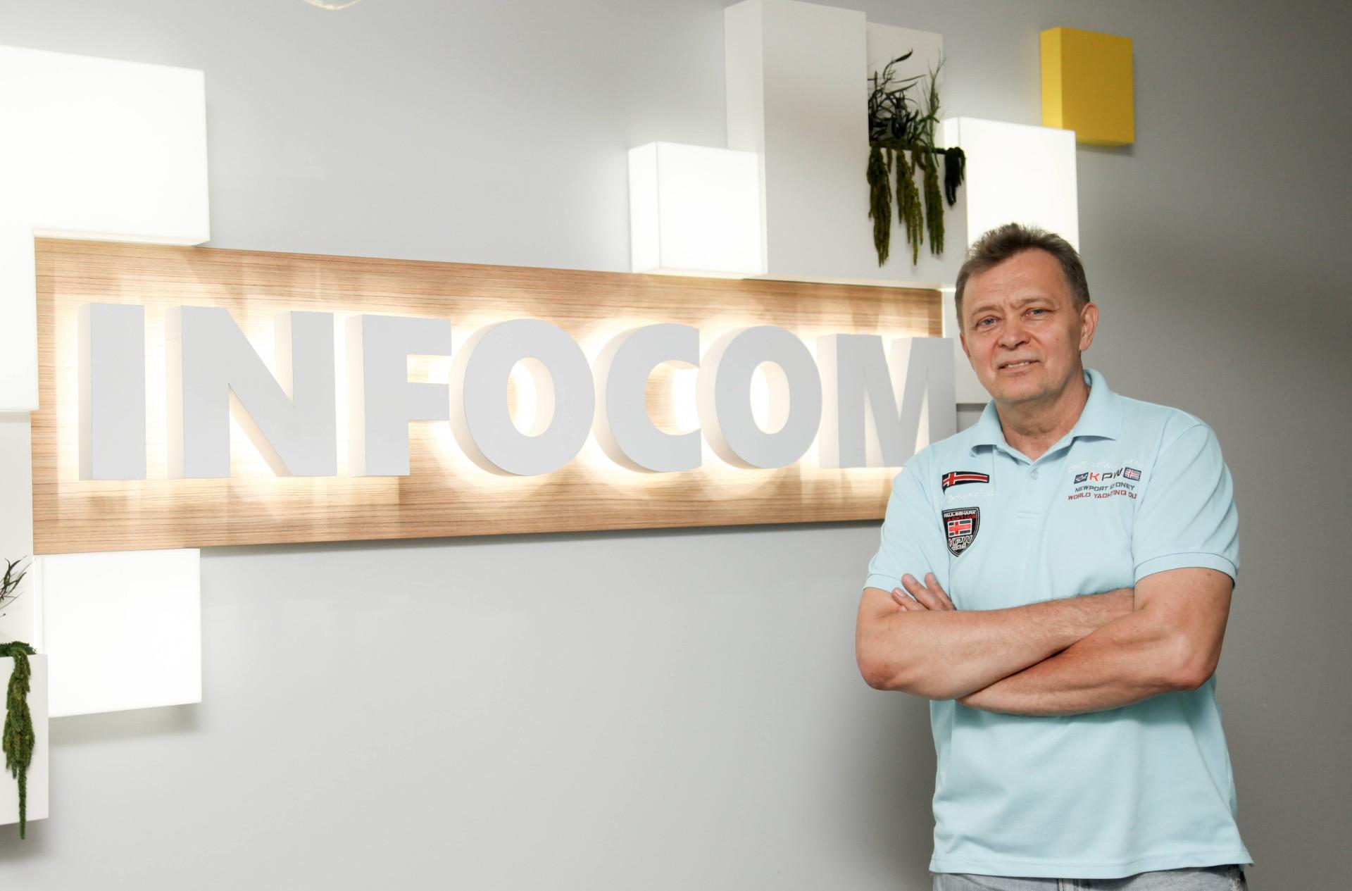 Эдуард Троценко, совладелец и генеральный директор компании «ИНФОКОМ ЛТД»