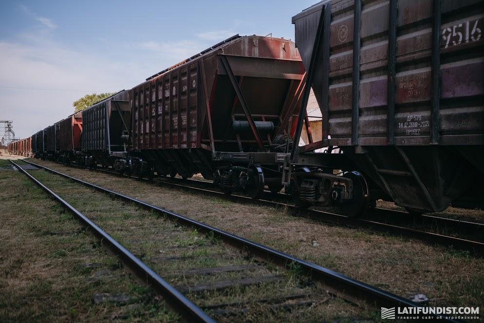Железнодорожный зерновоз
