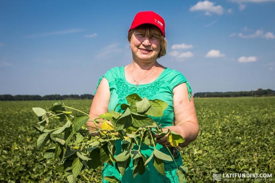 Екатерина Шубина, главный агроном предприятия «Октан»