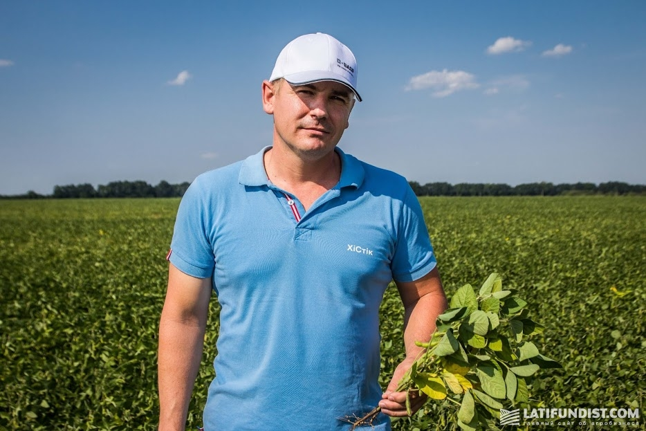 Дмитрий Тарасов, региональный менеджер по сбыту в Харьковской области компании BASF