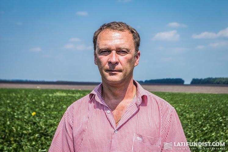 Максим Зайцев, главный агроном предприятия «Подоляка»