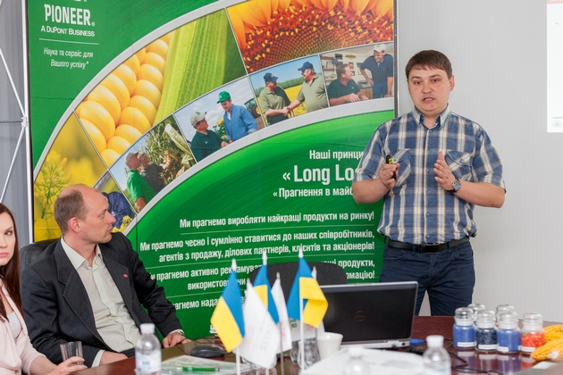 Николай Кныш, агроном ООО «Стаси Насиння»