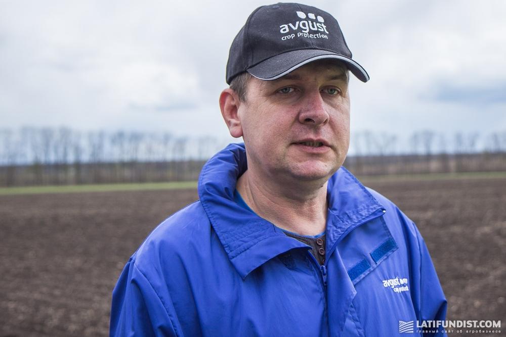 Менеджер компании «Август-Украина» в Харьковской и Луганской областях Андрей Задорожный
