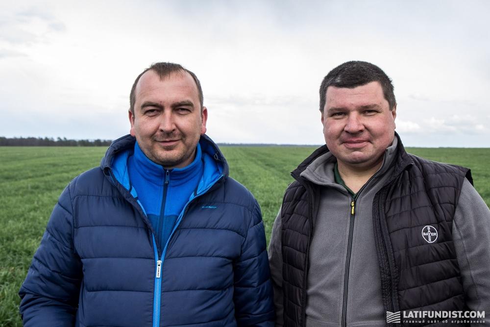 Роман Чеботарев (справа) и Олег Веселов (слева)
