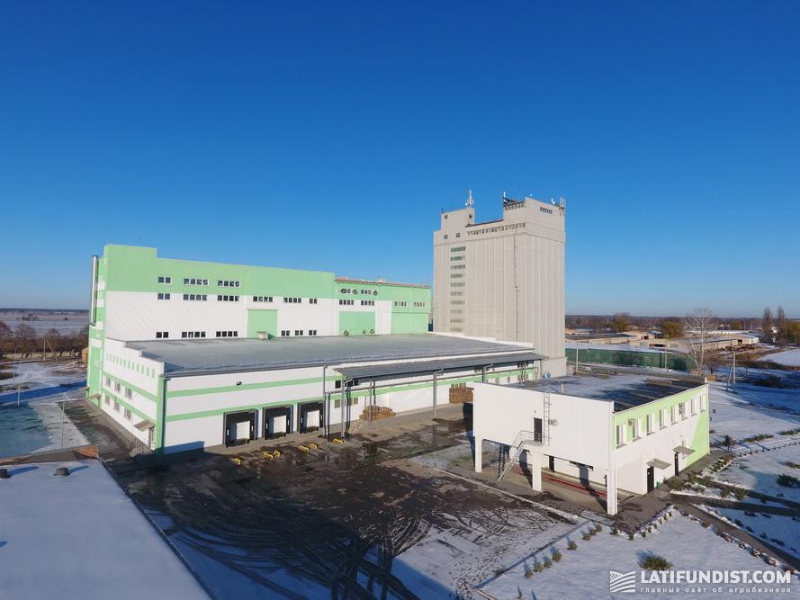 Завод по производству хлопьев Agricom Group