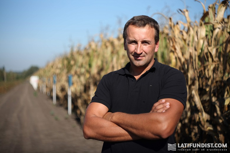 Андрей Ковальчук, директор предприятия «Ольга»