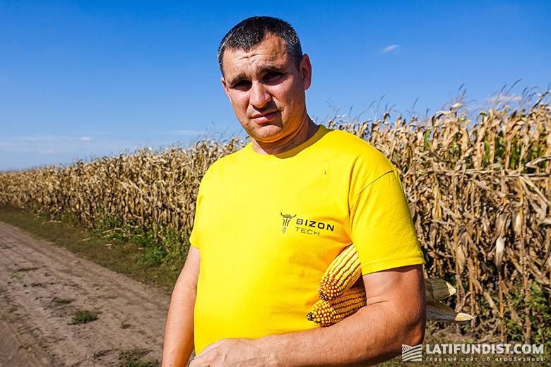 Станислав Кицишен, руководитель отдела продаж семян Винницкого регионального подразделения «Бизон-Тех»