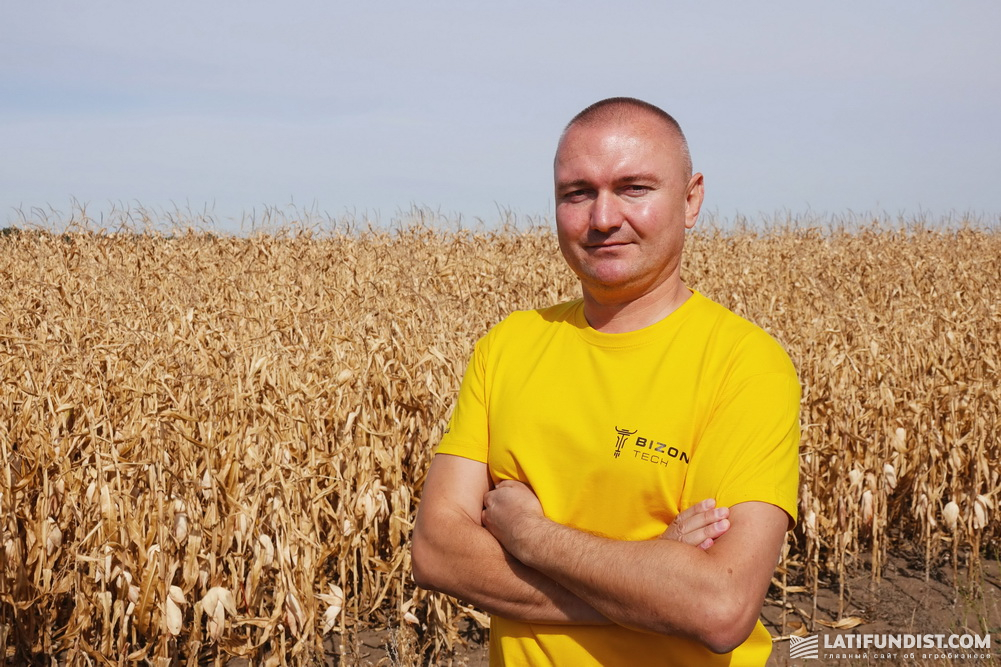 Владислав Юхта, руководитель Полтавского регионального структурного подразделения «Бизон-Тех»