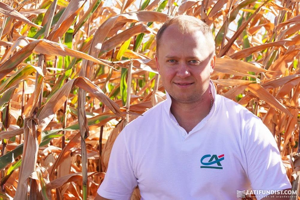 Дмитрий Скиба, управляющий региональным отделением Credit Agricole Bank в г. Сумы