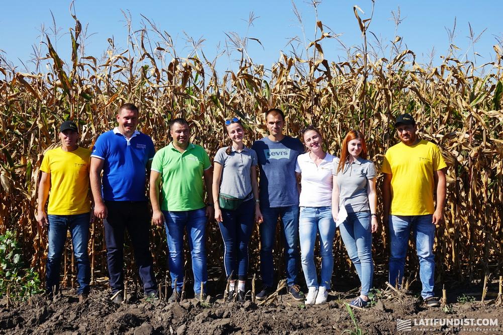 Участники АгроЭкспедиции Кукуруза 2018