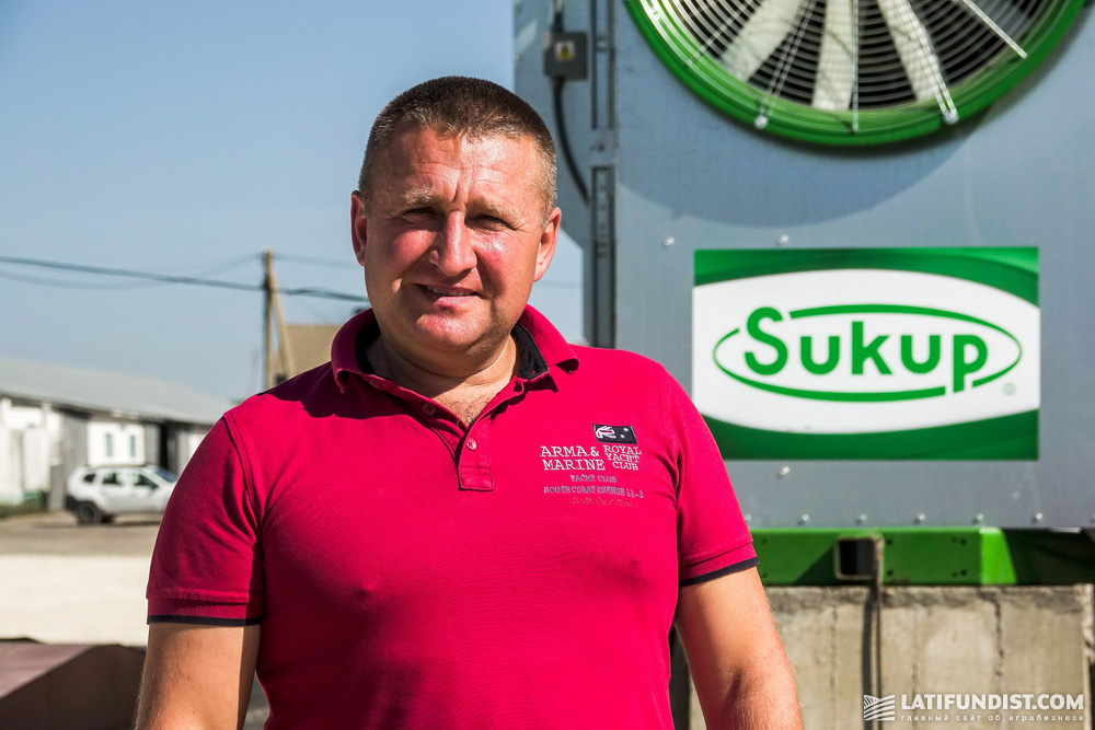 Валентин Королюк, исполнительный директор «Подольской зерновой компании»