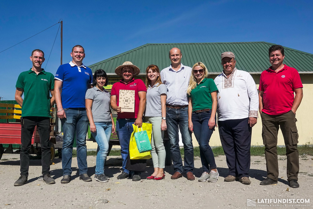 Учасники АгроЭкспедиции Кукуруза 2018