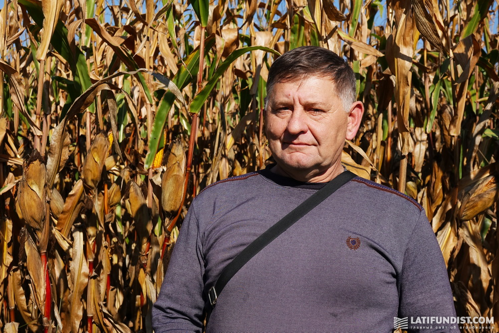 Владимир Ищук, главный агроном Козятинского отделения Cygnet Agrocompany