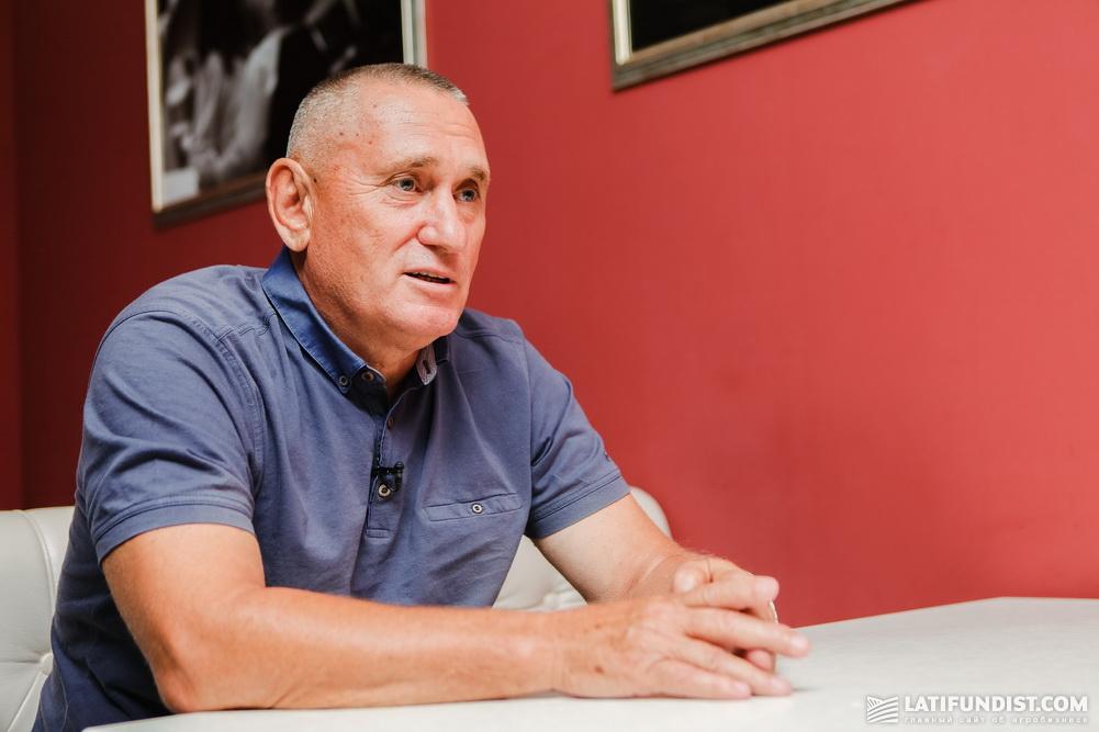 Александр Остапенко, директор предприятия «Проминь»
