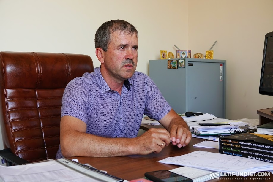 Владимир Онищук, директор предприятия «Корона»