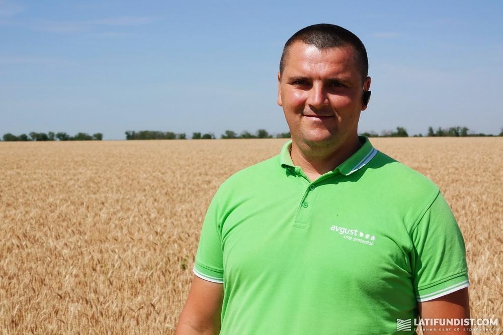 Олег Земсков, региональный представитель в Николаевской области компании «Август-Украина»