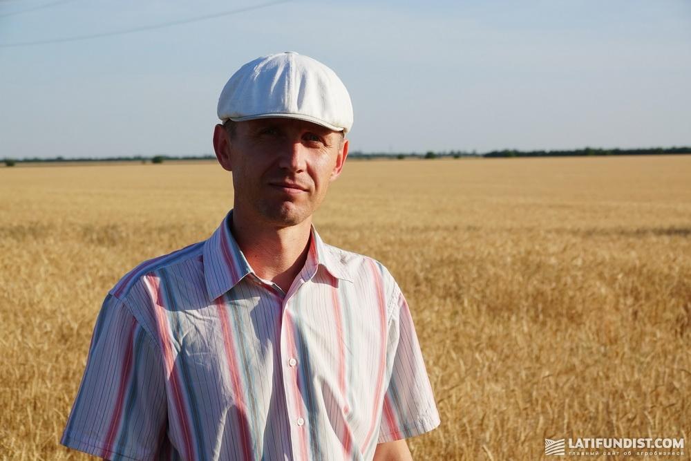 Яков Пинчук, начальник производственного отдела агрохолдинга «НИБУЛОН»