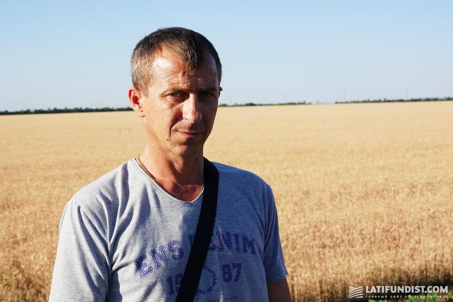 Владимир Бедрик, директор Снигиревского филиала компании «НИБУЛОН»