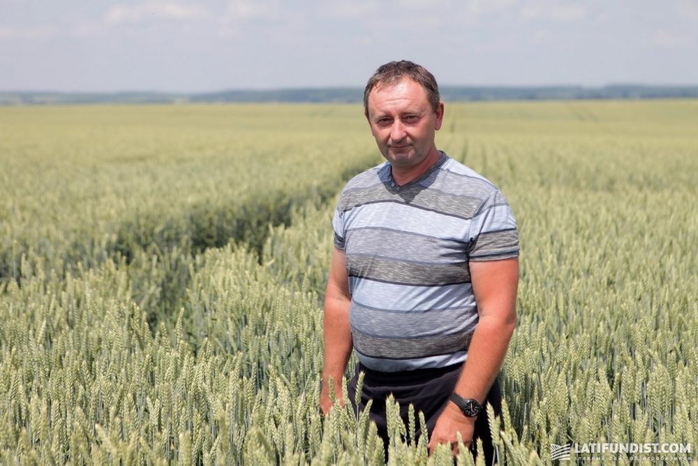 Николай Шандрук, агроном агрофирмы «Горынь»