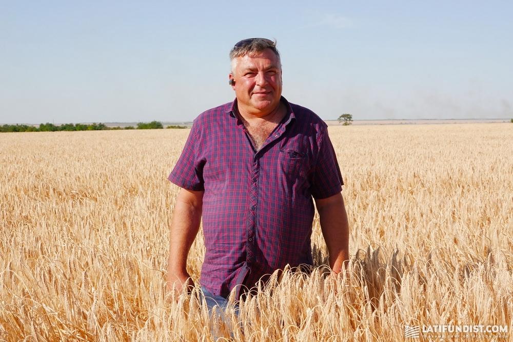 Александр Огородник, главный агроном хозяйства «Альфа Фарм»