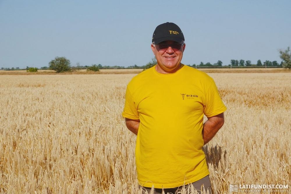 Владимир Кравец, руководитель Херсонского регионального представительства компании «Бизон-Тех»