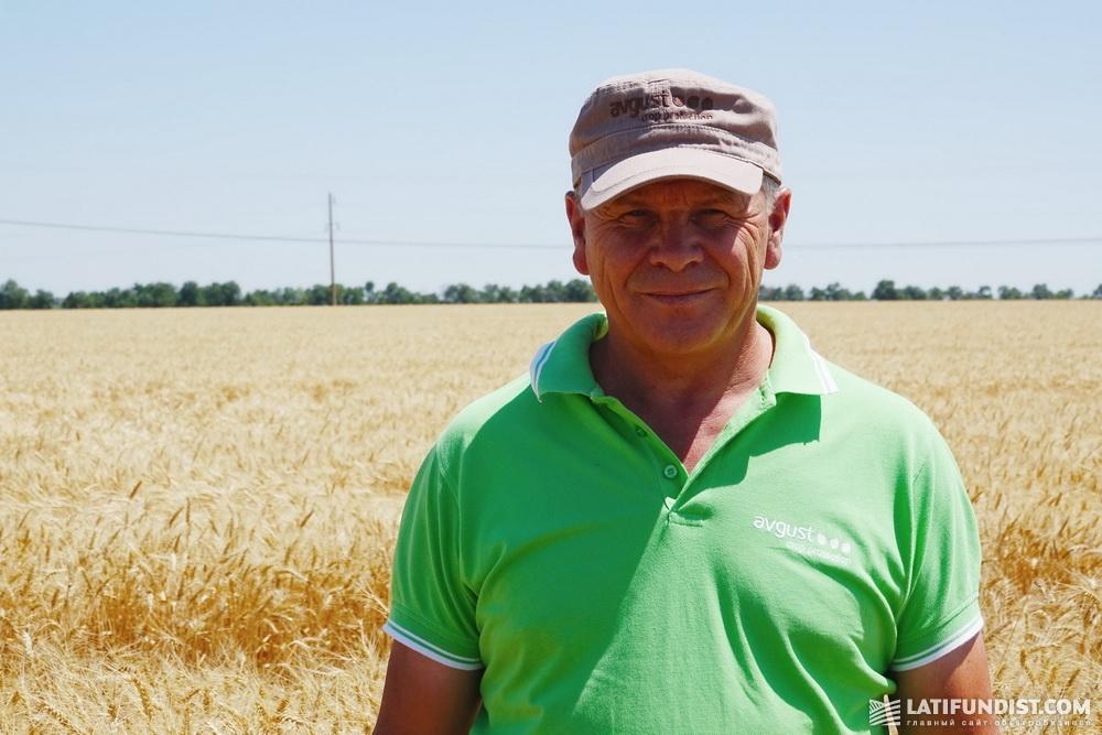 Виктор Гонтарук, региональный представитель в Херсонской области компании «Август-Украина», кандидат сельскохозяйственных наук