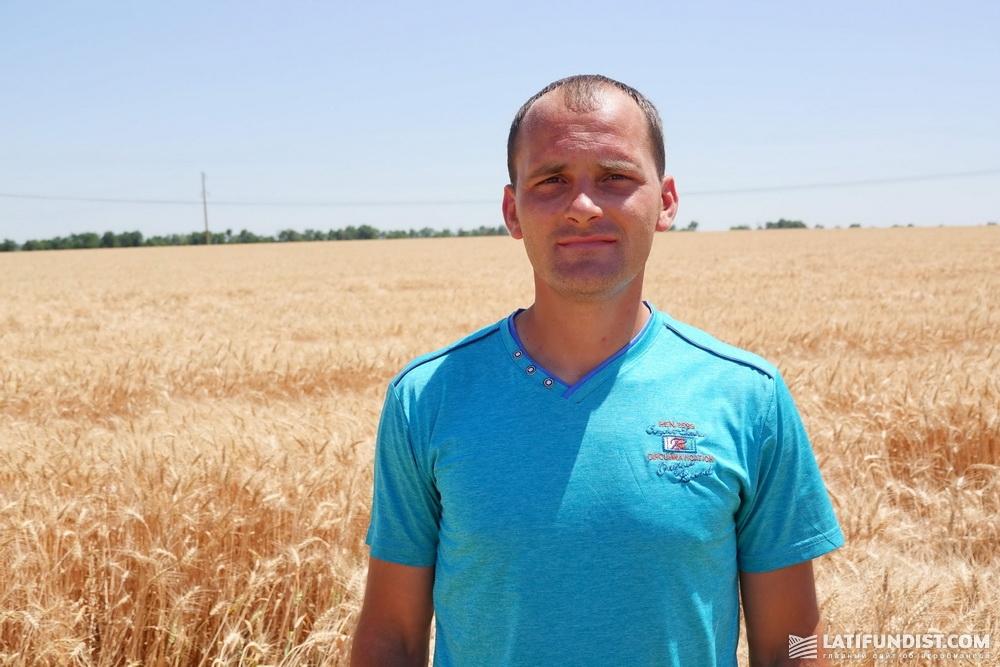 Мирослав Жуков, агроном по защите растений и семеноводству