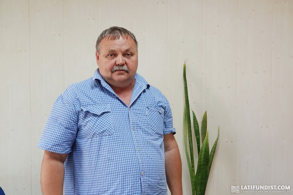 Александр Малыш, директор Каховского структурного подразделения компании «Таврийская перспектива»