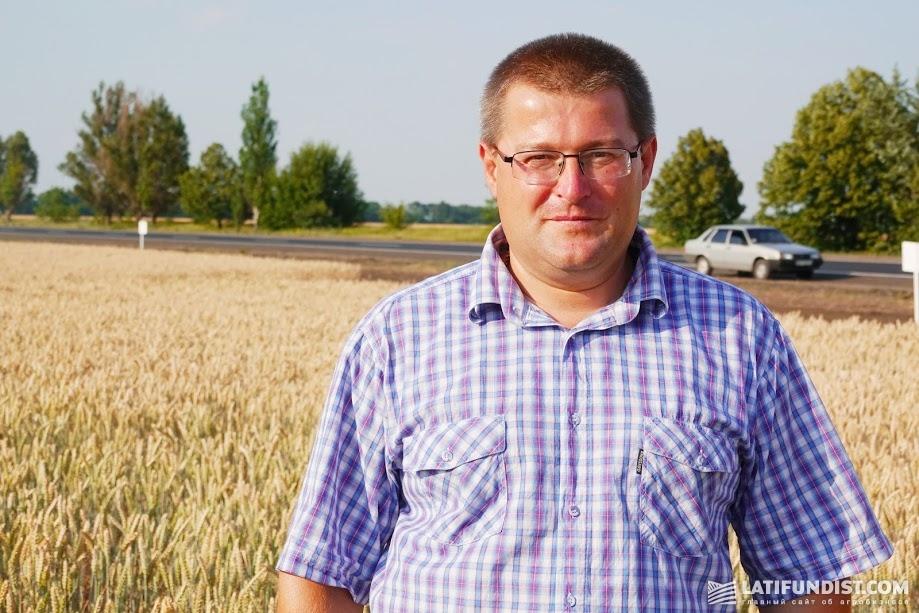 Николай Карпенко, главный агроном агрофирмы «Славутич»