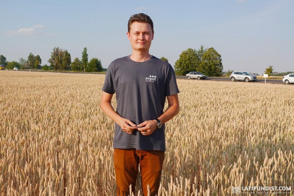 Николай Лукашенко, региональный представитель компании «Август-Украина» в Запорожской области